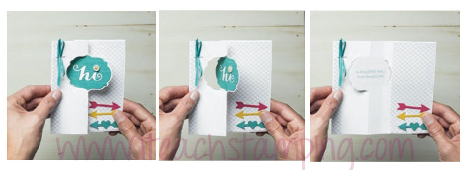 label card thinlit, circle card thin lit, how to make swing cards