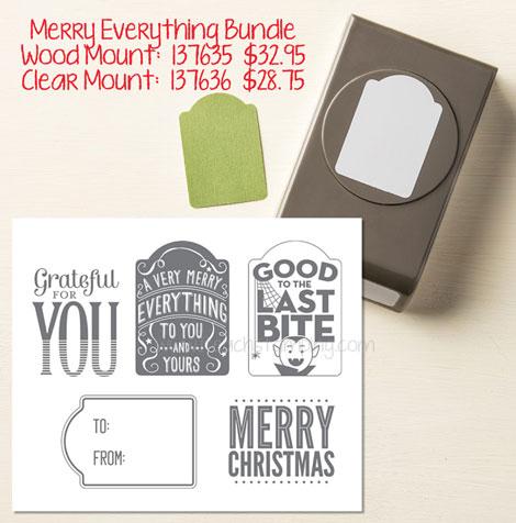 Merry Everything bundle stampin up
