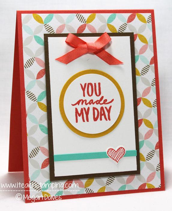 Card Making Ideas Thank You Part - 23: Friday Flip Making A Handmade Thank You Card