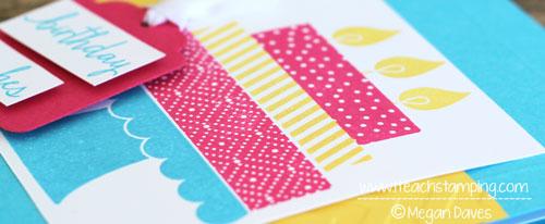 Stampin' Up!'s Build a Birthday Handmade Birthday Card Idea