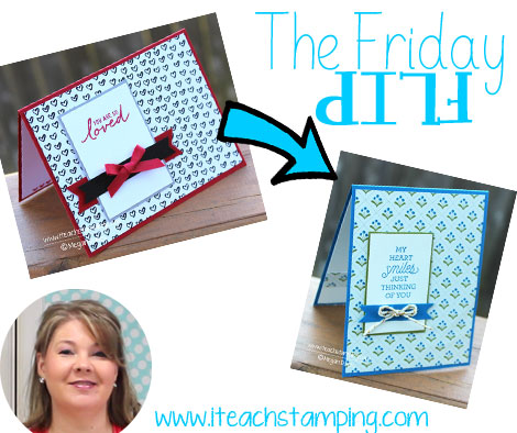 Friday Flip - Making A Simple Handmade Greeting Card