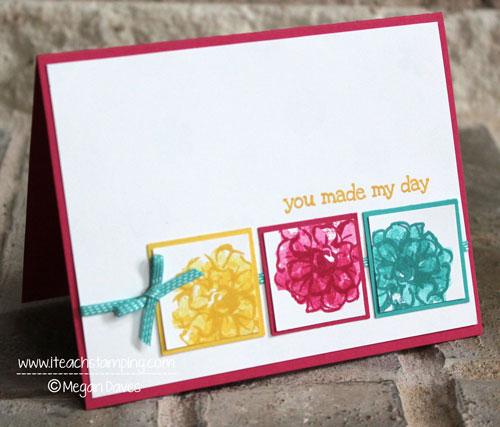 Friday Flip Making a Handmade Greeting Card