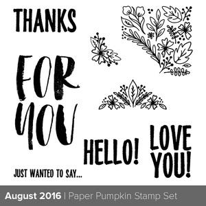 Paper Pumpkin sneak peek