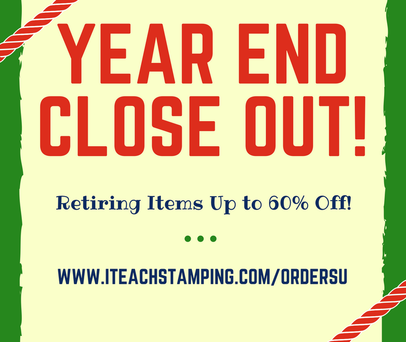 Year End Close Out Sale with Stampin' Up!