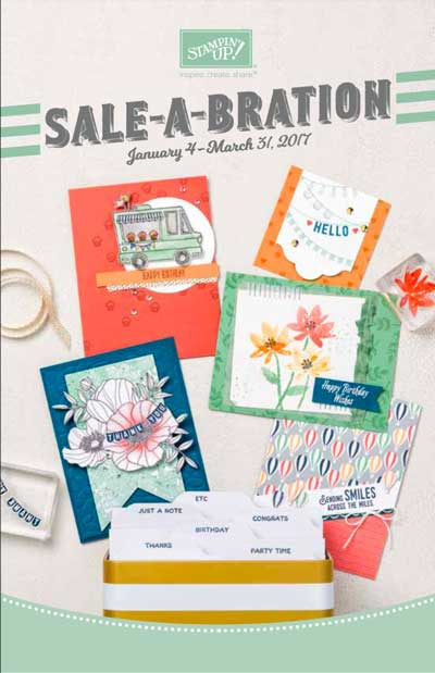 Stampin up sale a bration catalog