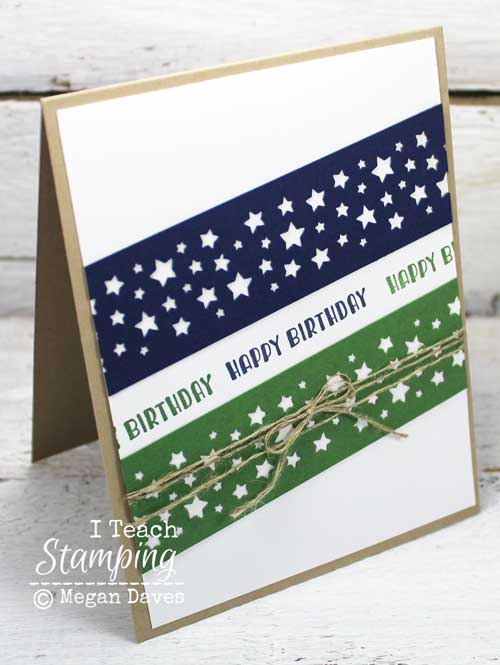 stampin up masculine birthday cards