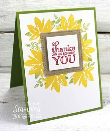 easy handmade thank you cards