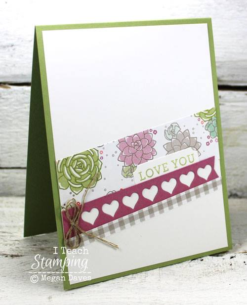 Another One of My Handmade Love Card Designs