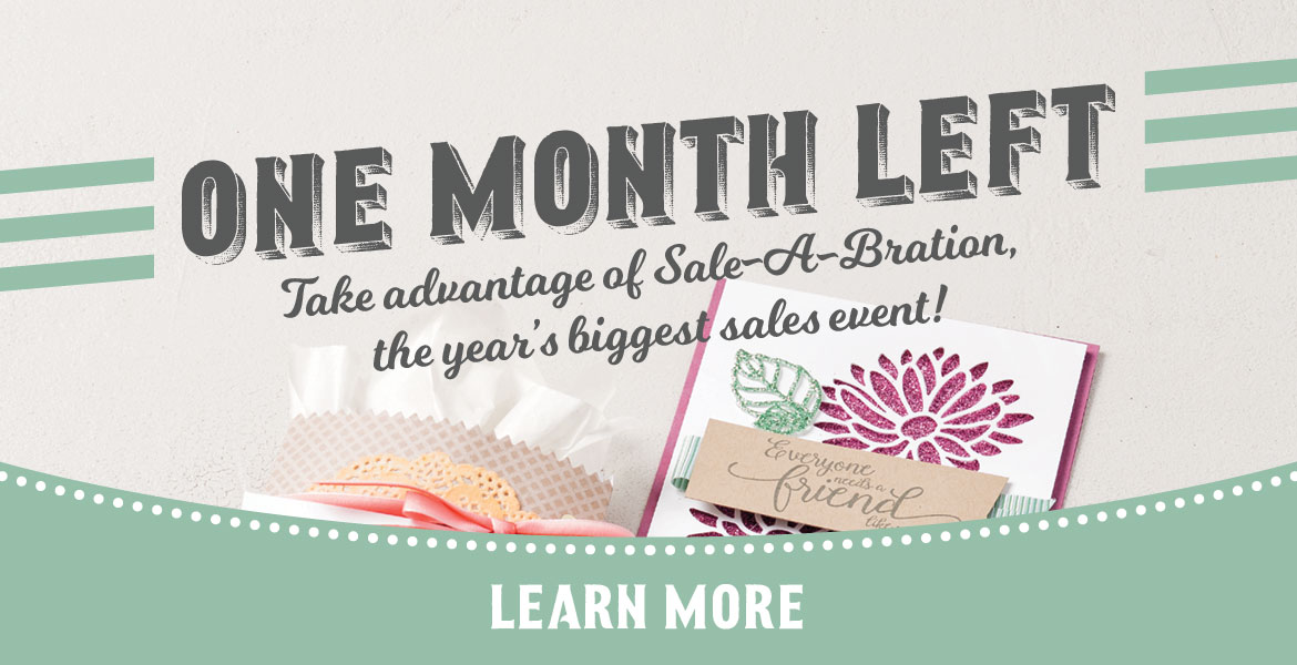 Last month of Sale-A-Bration