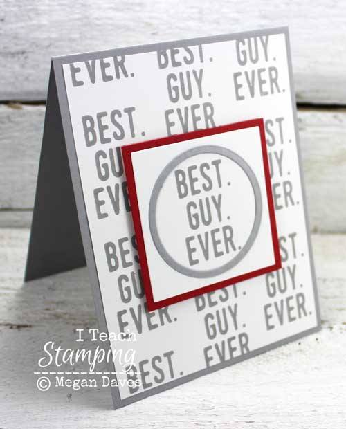 Masculine Stampin Up Cards