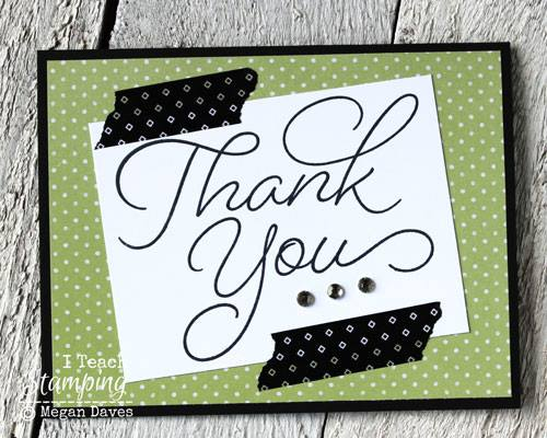 how to make a thank you card in word