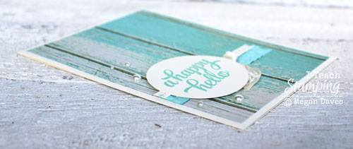 A closer look at card Decorating With Shabby Chic Style