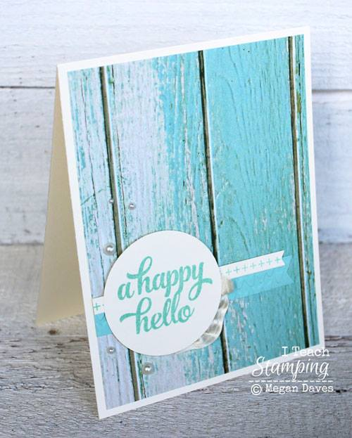 Card Decorating With Shabby Chic Style