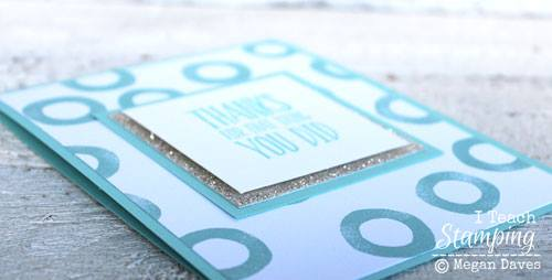 Cool details on ideas for handmade thank you cards