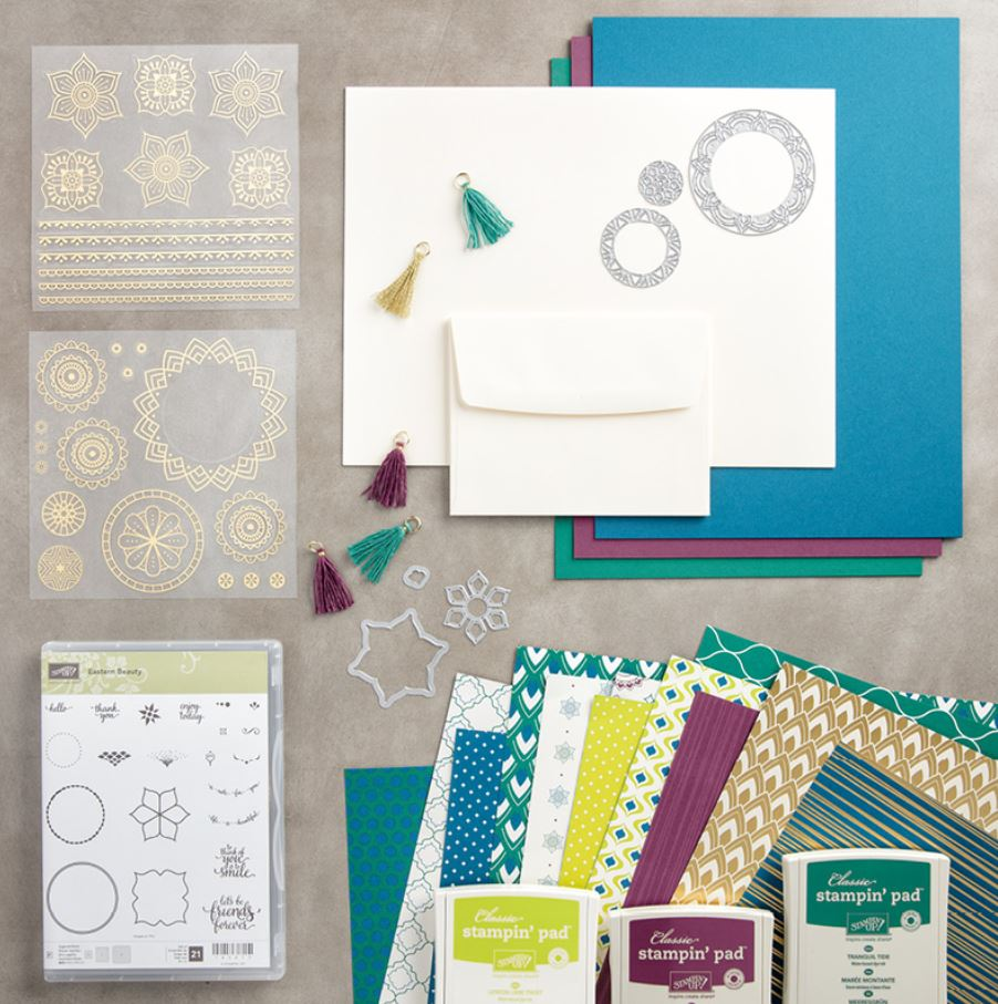 Eastern Palace Premier Bundle - part of the sneak peek purchase available from Stampin' Up!