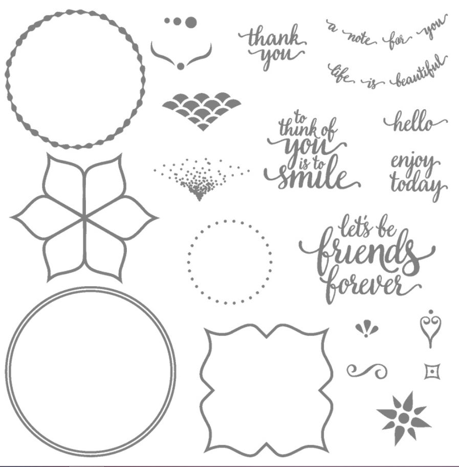 Eastern Palace Stamp Set - part of the sneak peek purchase available from Stampin' Up!