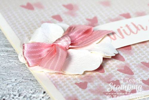 How To Make Little Paper Flowers up close in detail