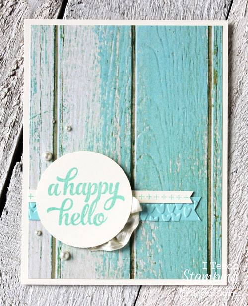 Card Decorating With Shabby Chic Style!