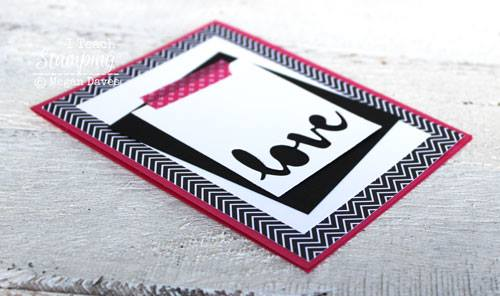 Check out a cool idea for using word dies for card making