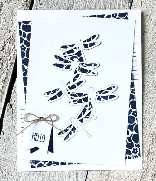 Fun tip for handmade die cut cards