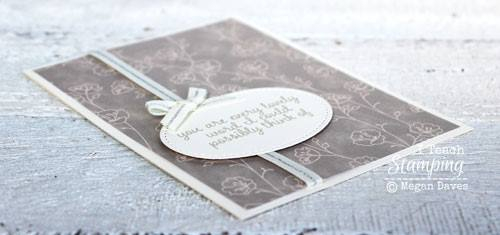 Simple greeting card making with those special details