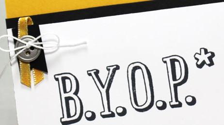 Friday Flip:  Graduation Card Tutorial