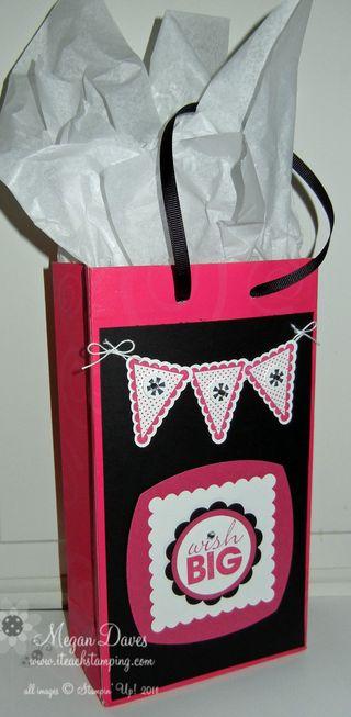 Stampin' Up!, Video Tutorial, Pennant Parade, Gift Bag