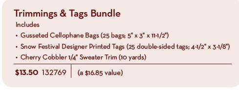 Stampin up holiday packaging bundles