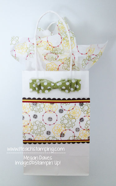 What About Making Your Own Gift Bag?