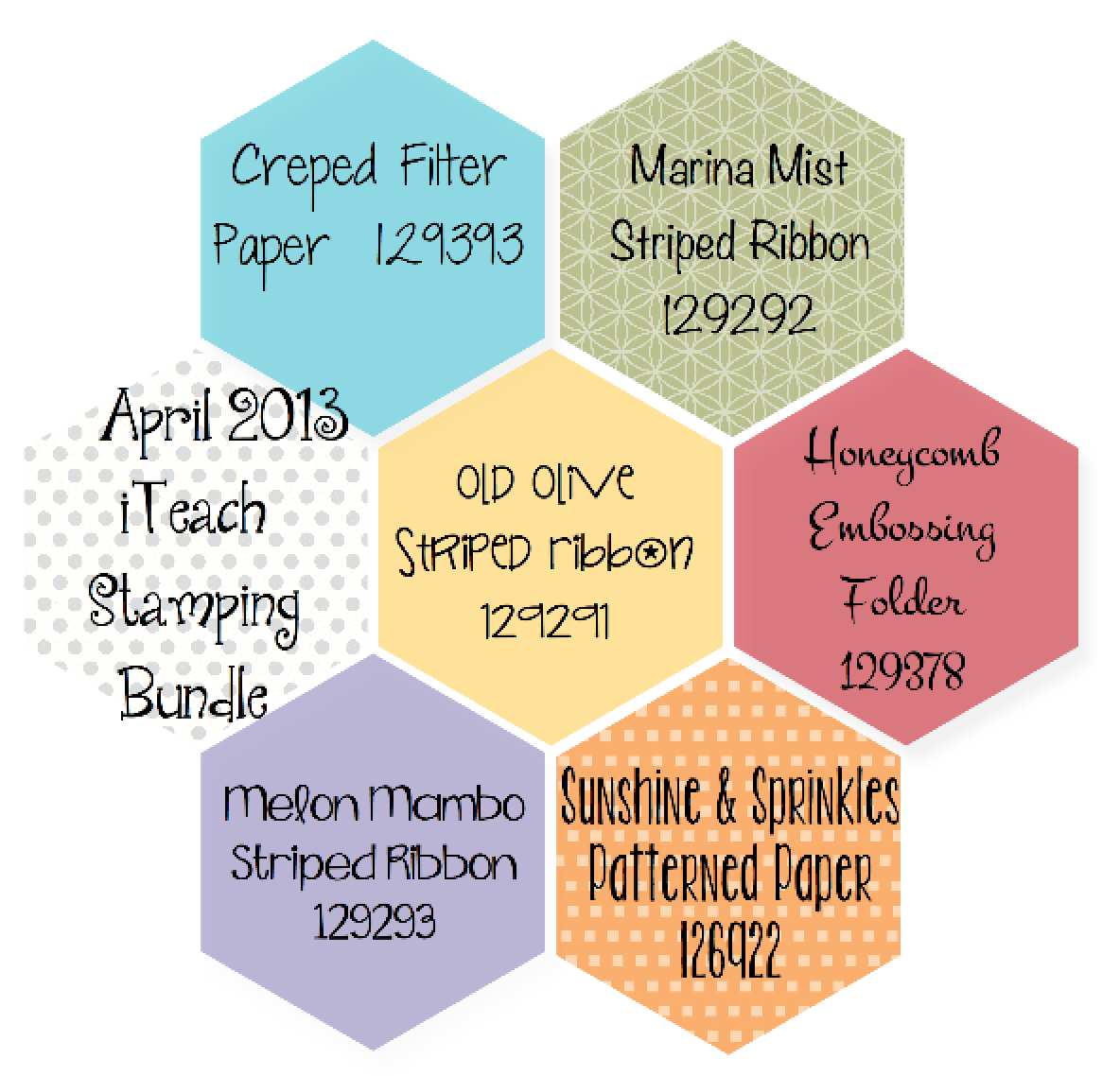 April 2013 iTeach Stamping Bundle