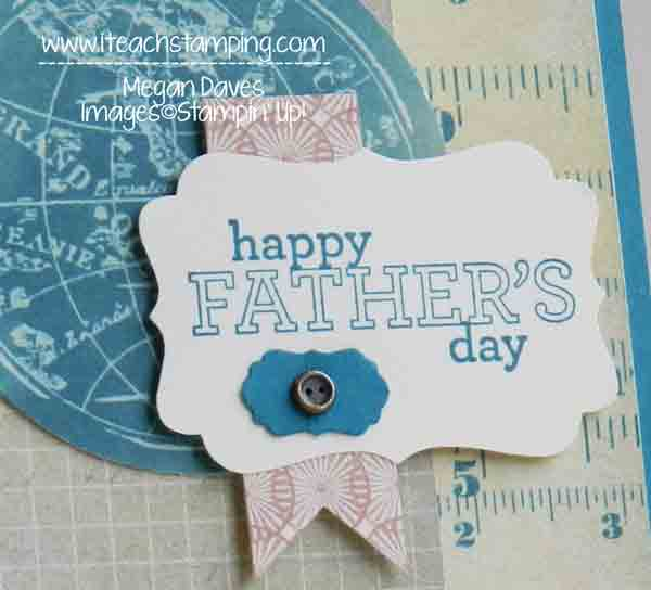 Fun Father's Day Card to Make:  Featuring Fan Fair Paper