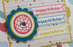 Easy to Create Happy Birthday Card Using Stampin' Up!'s Birds of a Feather