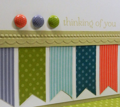 Rockin' Your In Colors With a Quick Greeting Card