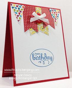 Retiring Items to Make a Handmade Card