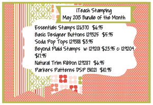 May 2013 Bundle of the Month