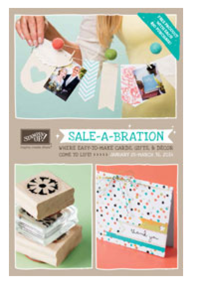 Stampin' Up!'s Sale-a-Bration has Started!!!