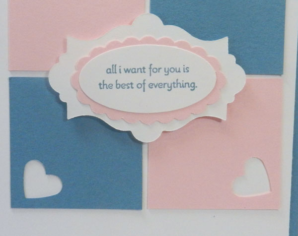 Best of Everything – Easy Card Idea