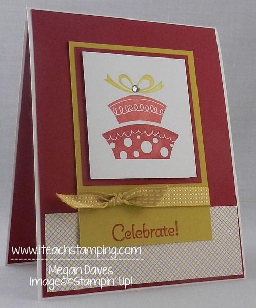 How to Make a Birthday Card using Topsy-Turvy Celebration