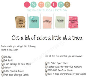Color Collector's Club – Get a lot of color, a little at a time!