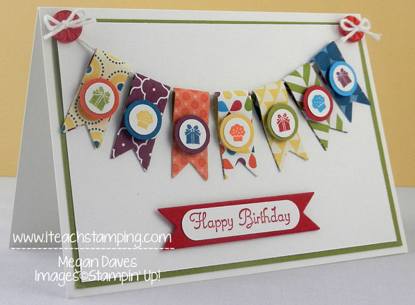 Summer Smooches with Itty Bitties from Stampin' Up!