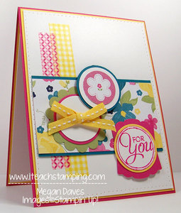 Gingham Garden and Chalk Talk from Stampin' Up!