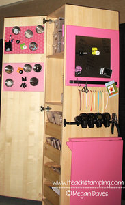 Organizing Your Craft / Stamp Space