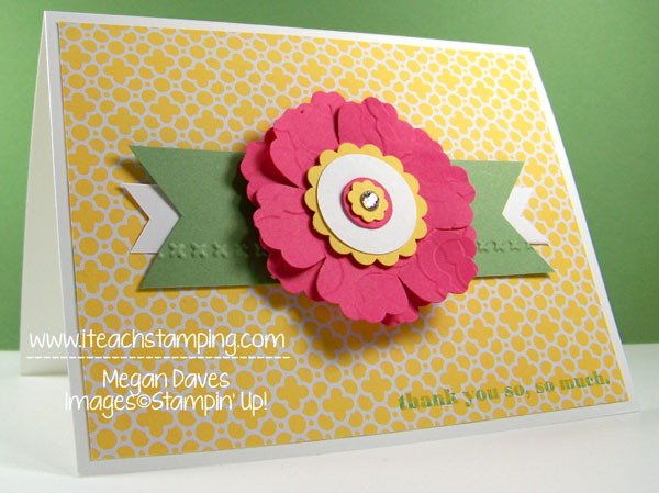 Quatrefancy Paper & Modern Mosaic from Stampin' Up!