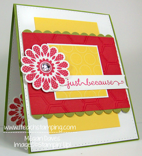 Polka Dot Pieces with A Dozen Thoughts from Stampin' Up!