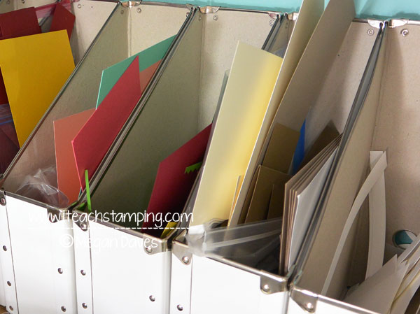 How to Organize Your Stamp / Craft Space