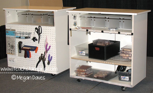 More How to Organize Your Craft / Stamp Space