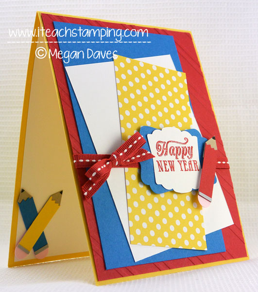 How to Make a Back to School Greeting Card – Video Tutorial