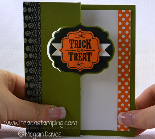 How to Make an Easy Swing (Swinging) Card using Stampin' Up!'s Card Thinlits
