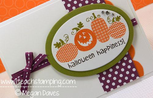 DIY Card Making – Halloween Card Making Idea Using Stampin' Up!'s Halloween Happiness