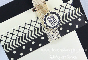 Easy to Make Thank You Card